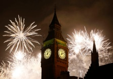 Britain New Year's Celebrations LKW104