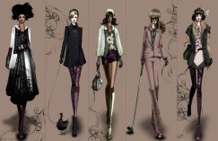 Fashion Illustration by Matthew Lee 03